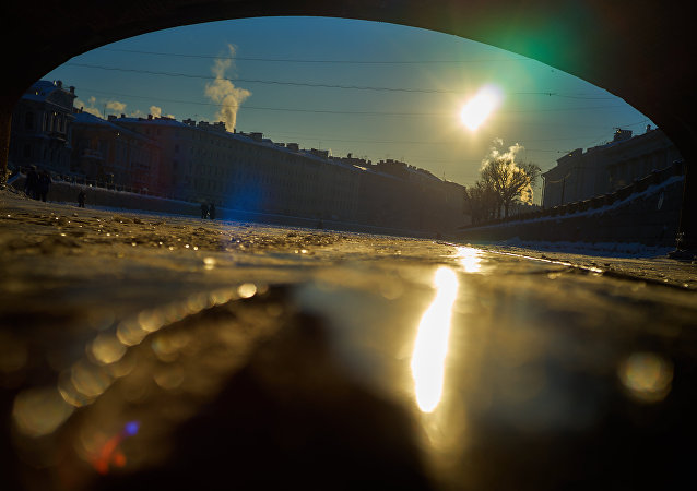 San Pietroburgo al disgelo