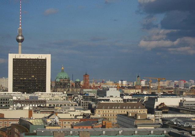 Una vista di Berlino
