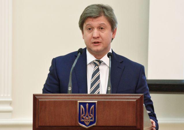Il ministro delle Finanze ucraino Oleksandr Danilyuk