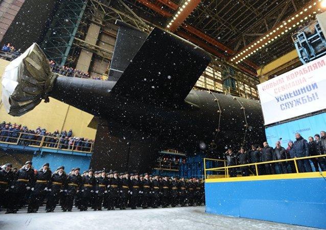Il sottomarino russo Kazan