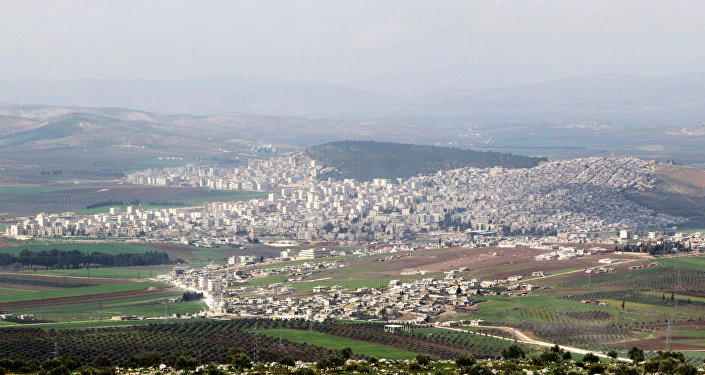 Veduta della città siriana di Afrin controllata da curdi (foto d'archivio)