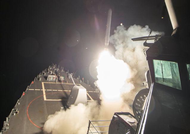 Bombardamento americano contro base siriana