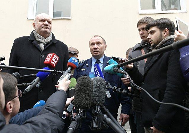 Il macchinista Aleksandr Kaverin