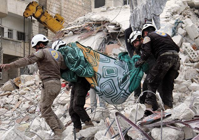 Caschi Bianchi in Siria