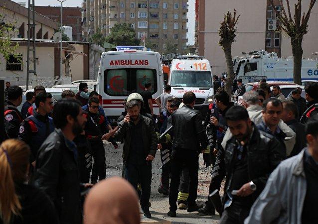 Esplosione a Diyarbakir