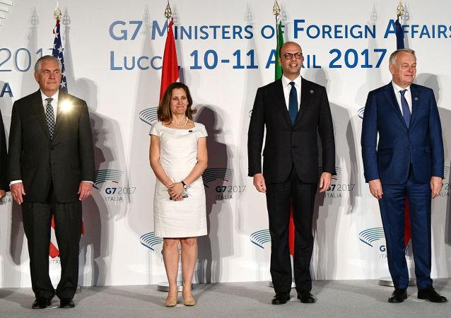 G7 dei ministri degli esteri di Lucca