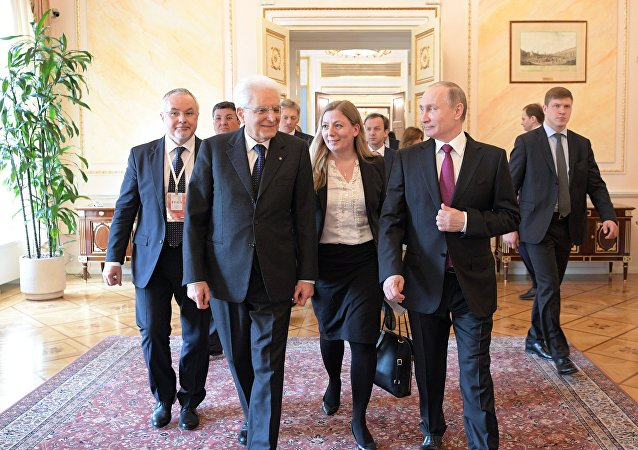 Incontro tra Vladimir Putin e Sergio Mattarella a Mosca
