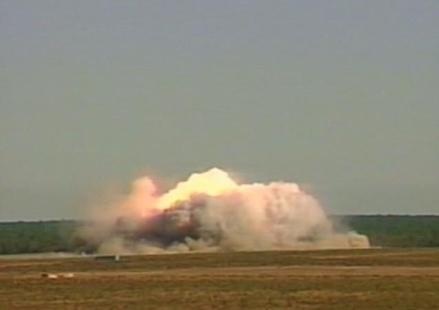 Il collaudo di GBU-43