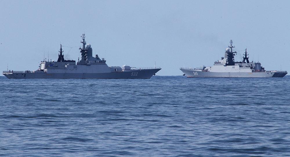 Boiky and Stoiky corvettes return to Baltiysk
