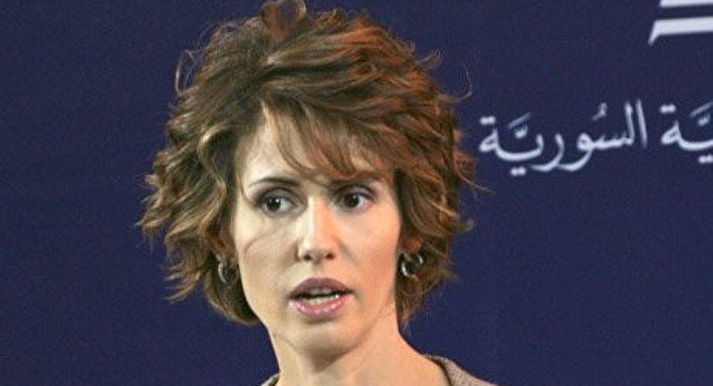 Asma Assad (foto d'archivio)