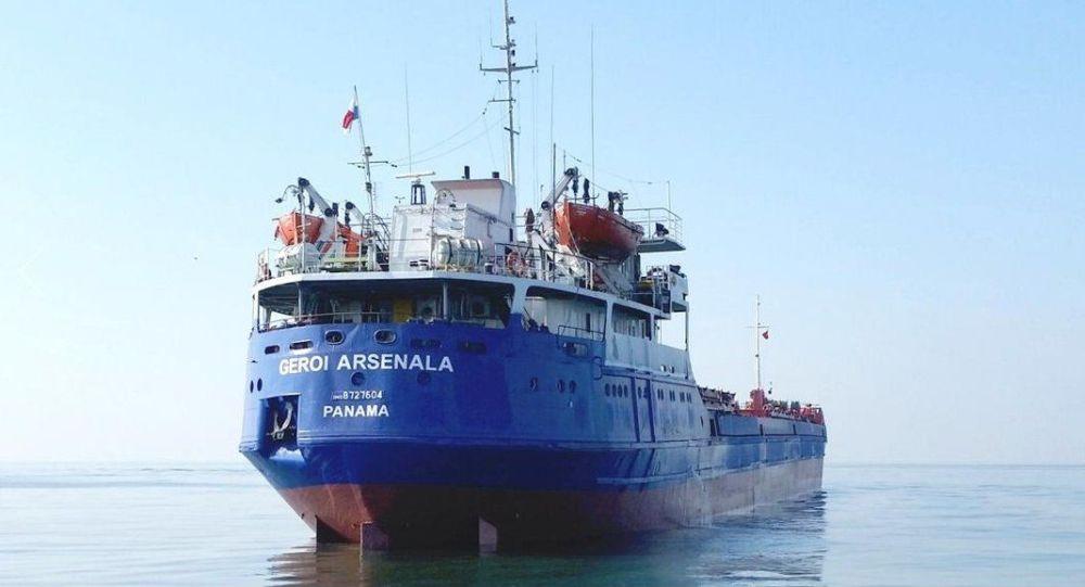 La nave Geroi Arsenala. (Foto d'archivio)
