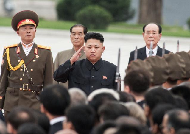 Kim Jong-un a Pyongyang