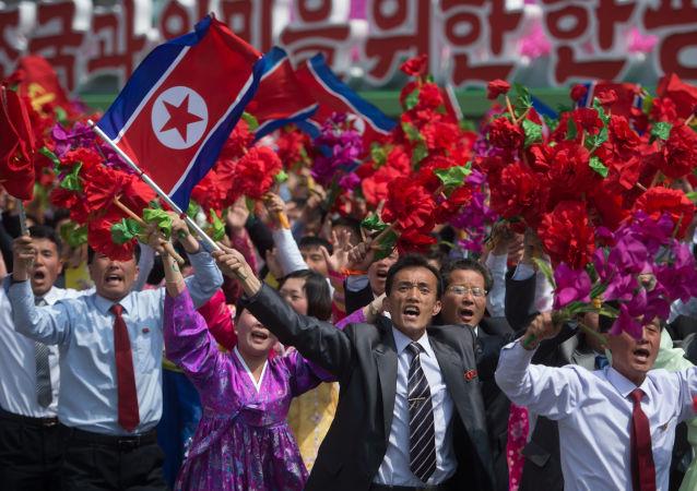 Manifestazione filo-governativa a Pyongyang (foto d'archivio)