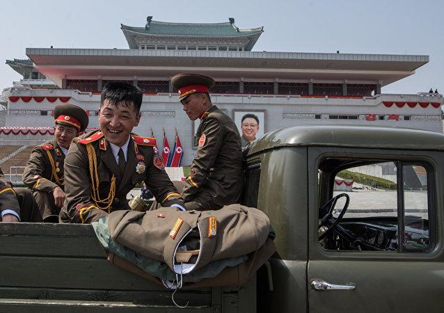 Pyongyang dopo la parata
