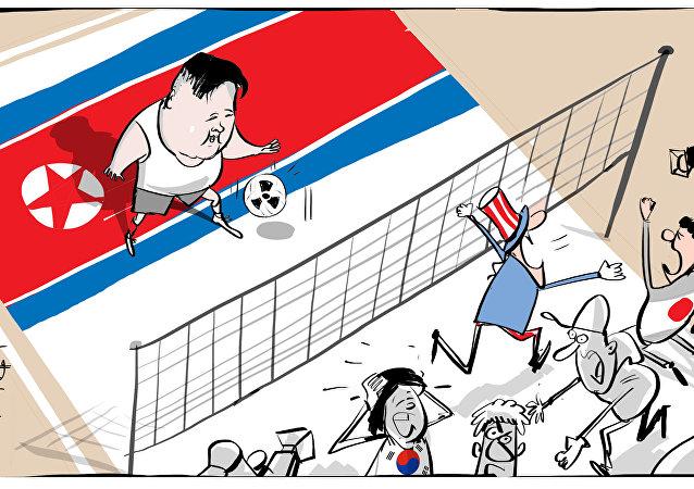 L'unico luogo dove non c'è panico paradossalmente è la Corea del Nord.