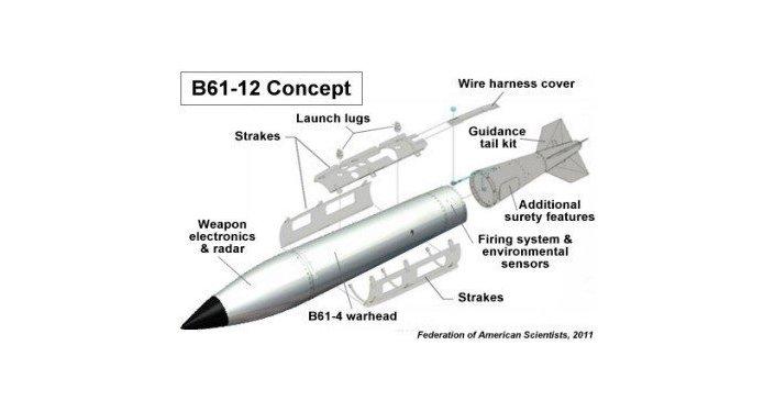 La bomba atomica B61-12
