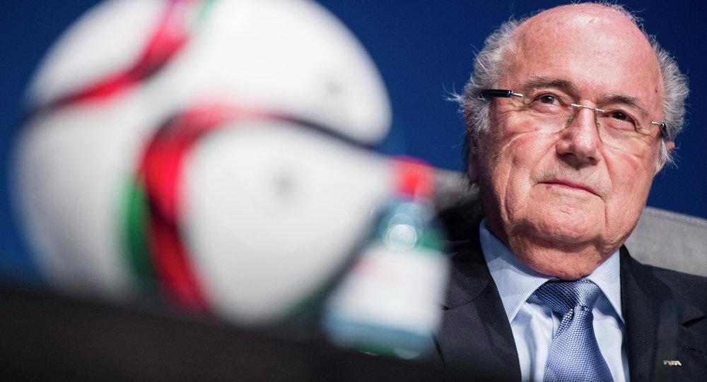 Joseph Blatter, presidente FIFA