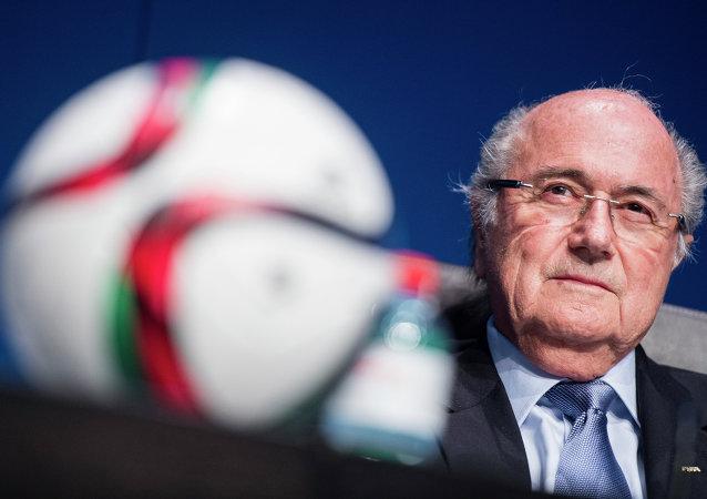 Joseph Blatter, presidente in carica FIFA