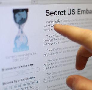 La pagina ufficiale di Wikileaks