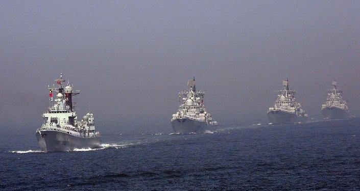 Flotta cinese (foto d'archivio)
