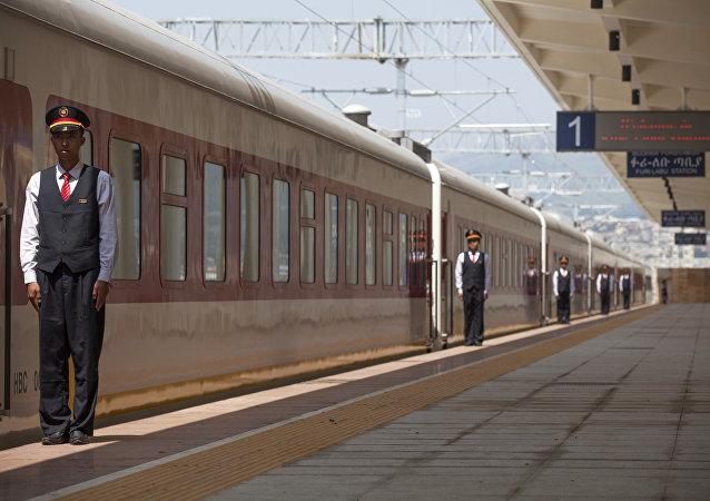 La ferrovia tra Addis Abeba e il Gibuti costruita con gli investimenti cinesi