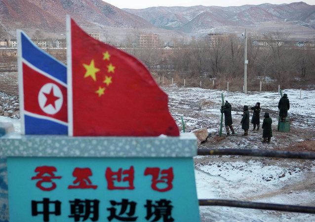 La frontiera tra la Corea del Nord e la Cina