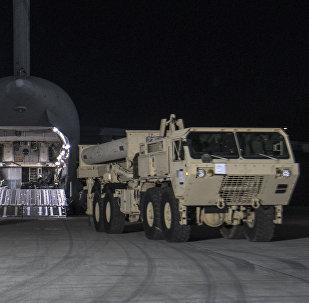 Il sistema di difesa aerea THAAD.