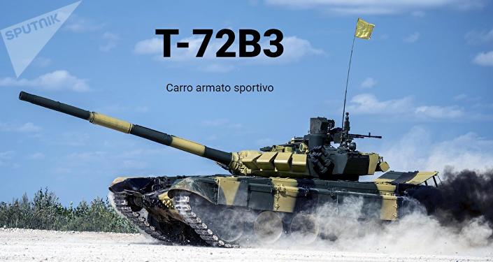 Il carro armato sportivo T-72B3