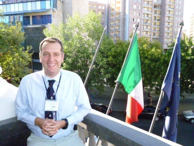 Matteo Guidotti, ricercatore presso l'Istituto di Scienze e Tecnologie molecolari del CNR, membro dell'Accademia delle Scienze dell'Istituto di Bologna.