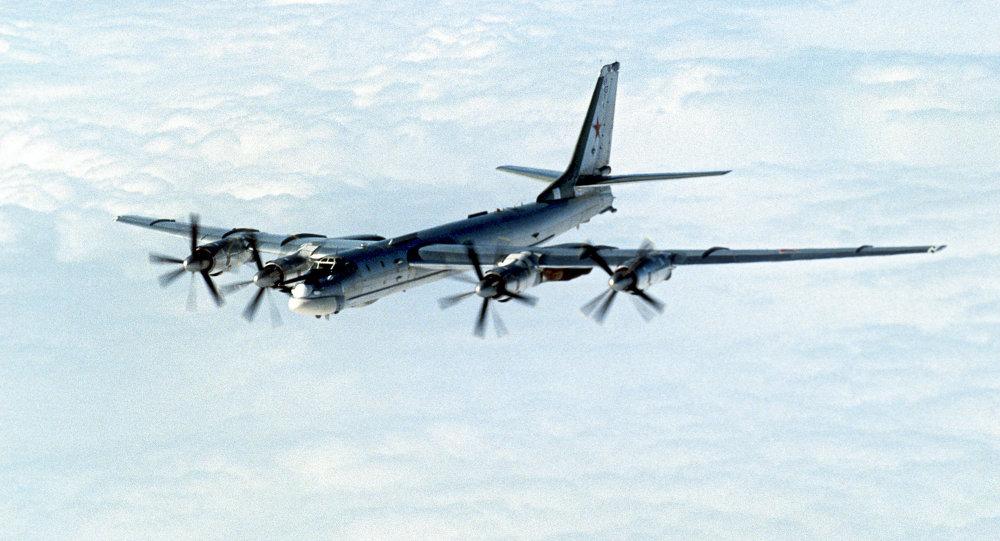 Tu-95 strategic bomber