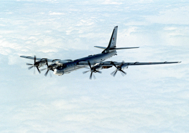 Tu-95 strategic bomber