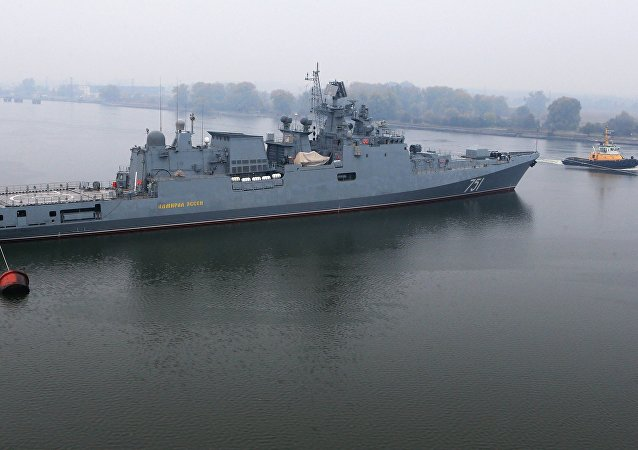 Admiral Essen frigate puts to sea for mechanical run tests