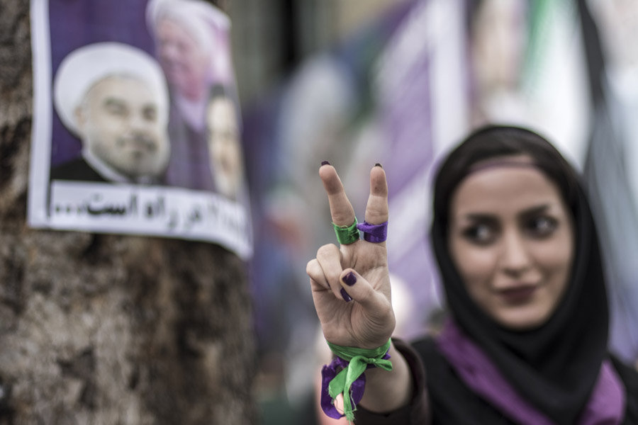 Iran, Rohani ha vinto le elezioni
