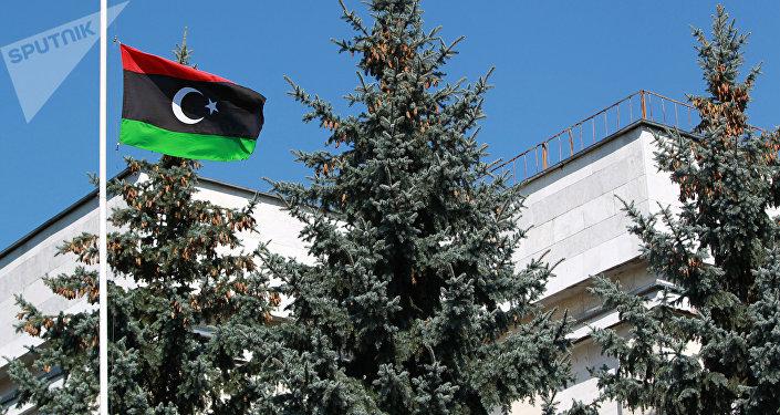 La bandiera della Libia