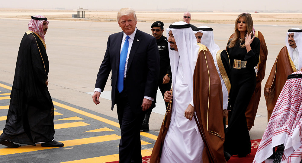 Trump in Arabia Saudita