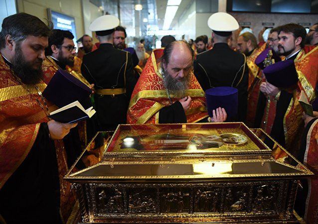 Reliquie di San Nicola di Bari a Mosca