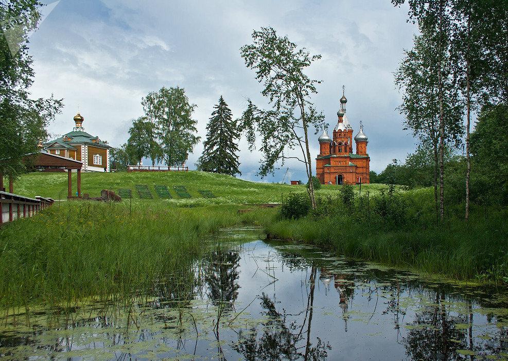 Lungo il Volga, il fiume più lungo d'Europa