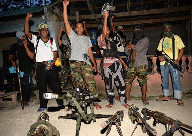 Ribelli islamici dell'isola filippina di Mindanao