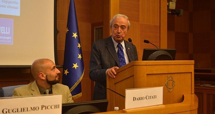 Dario Citati e Antonio Martino