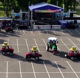Bielorussia, il festival dei trattori