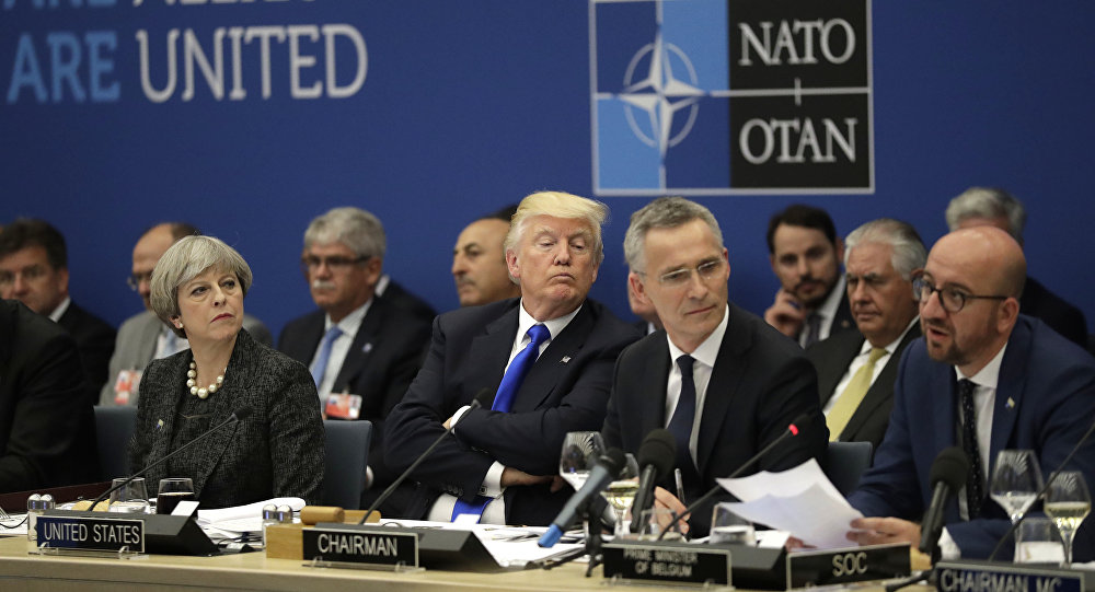Donald Trump al vertice NATO
