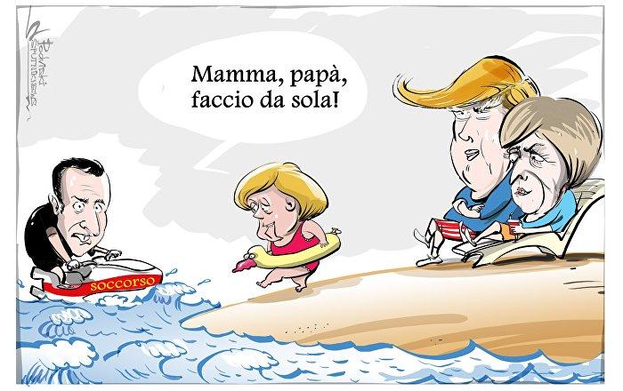 Il cancelliere tedesco Angela Merkel ha dichiarato che l'Europa non può più fare affidamento sugli altri e dovrebbe mettere il suo destino nelle proprie mani.