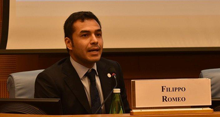Filippo Romeo, esperto di geoeconomia dei trasporti e delle infrastrutture