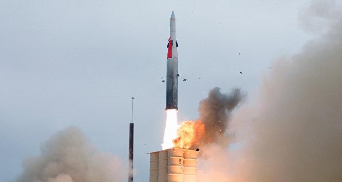 Test missile anti-balistico