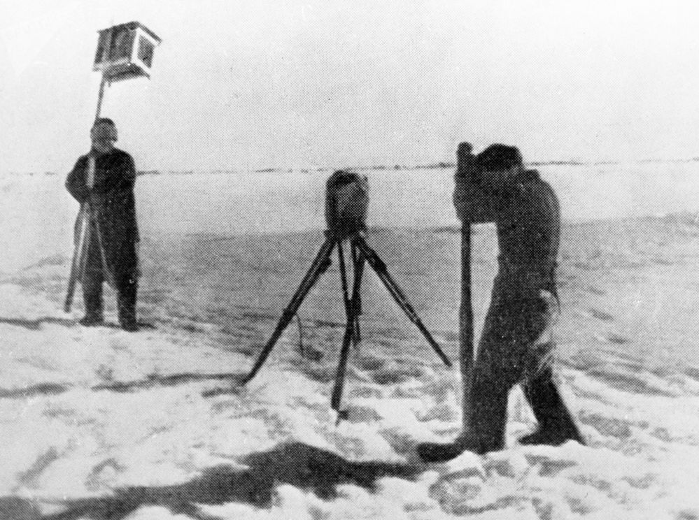 La spedizione polare sovietica Polo Nord