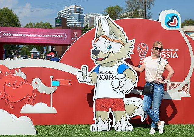 Parco della Confederations Cup a Sochi