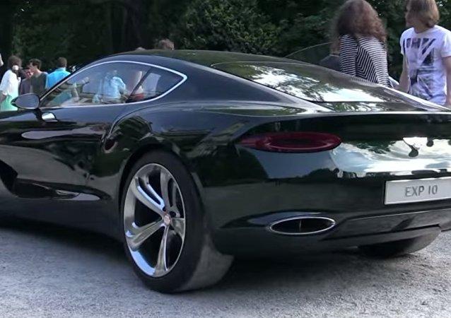La Bentley a Villa D'Este