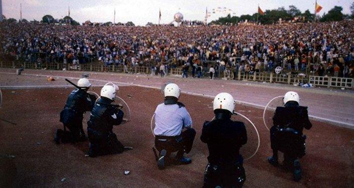 Bruxelles, stadio Heysel 29 maggio 1985
