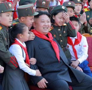 Kim Jong Un e i bambini