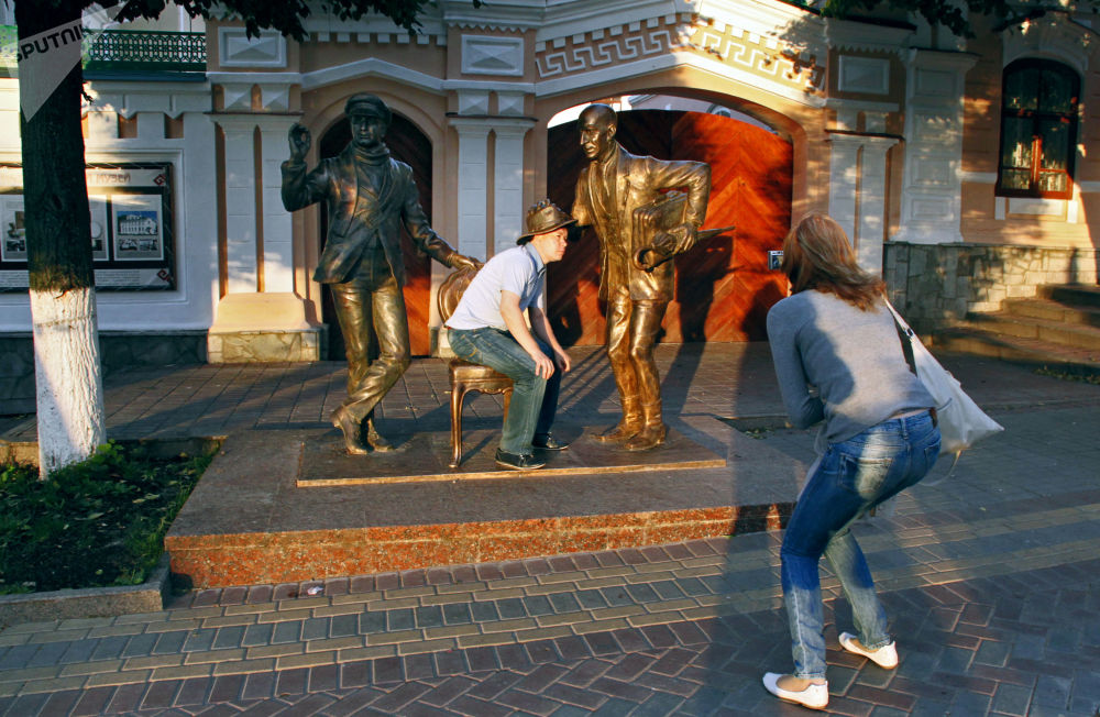 I cittadini di Cheboksary.